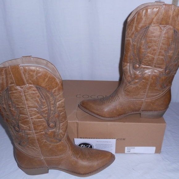 31dbf51e160 Coconuts by Matisse Women's Gaucho Cowboy Boot NWT